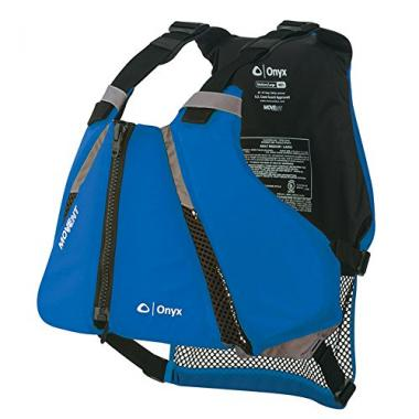 Onyx Curve MOVEVENT Paddle Sports PFD Life Jacket For Canoeing