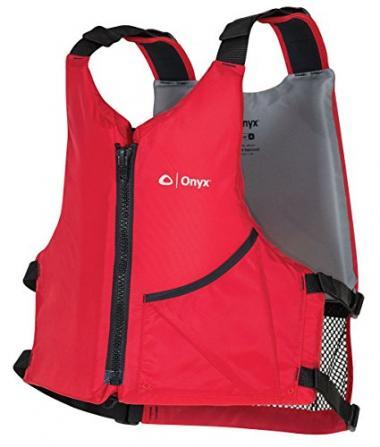 ONYX Universal Paddle PFD Life Jacket For Canoeing