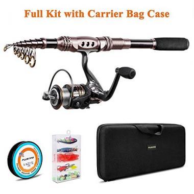 PLUSINNO Fishing Rod and Reel Combo