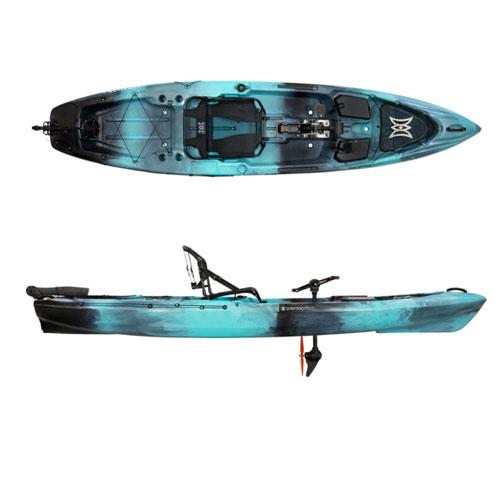 Perception Pescador Pilot 12.0 Pedal Kayak For Camping