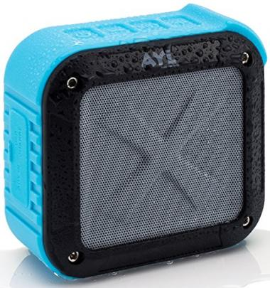 ATL Portable Outdoor and Shower Bluetooth 4.1 Speaker