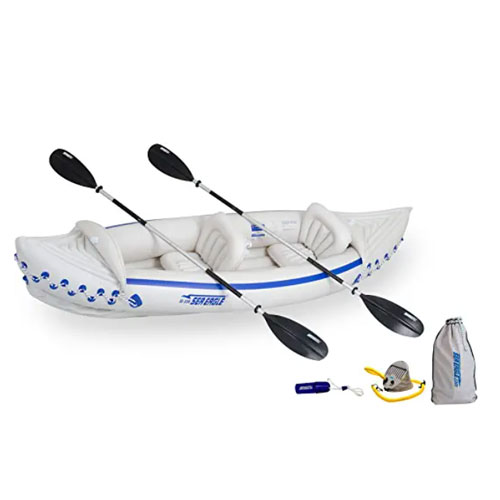 Sea Eagle 330 Deluxe Inflatable Whitewater Kayak