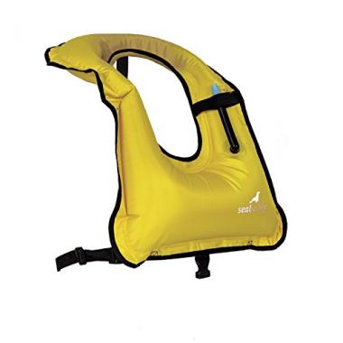 Inflatable Snorkel Vest Safety Jacket by SealBuddy