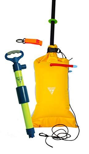 Seattle Sports Basic Safety Kit – Includes Paddle Float, Bilge Pump, and Safety Whistle