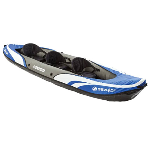 Sevylor Big Basin 3-Person Inflatable Whitewater Kayak