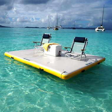 Inflatable Floating Dock by Solstice