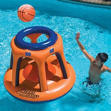 Swimline Giant Shootball Basketball Game Pool Toys