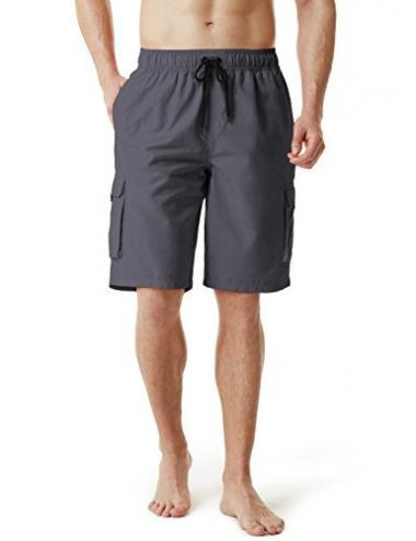 TSLA Men's Swim Trunk