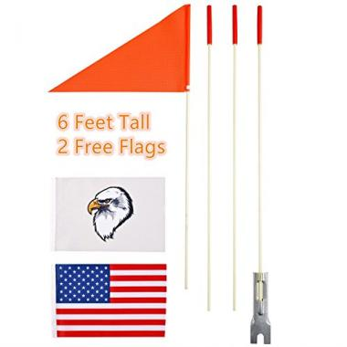 Uelfbaby Heavy Duty Kayak Flag
