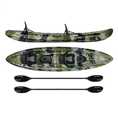 Vibe Kayaks Skipjack 120T | 12ft Tandem Kayak