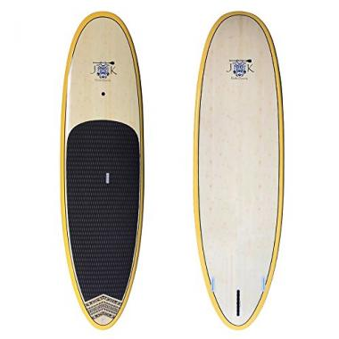 Bamboo Extra Wide Stand Up Paddleboard by JK Surfboards