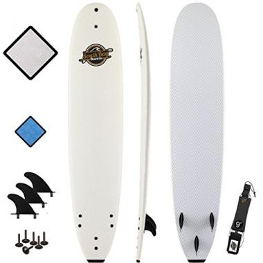 "South Bay Board Co. 8'8"" Premium Beginner Foam Surfboard"