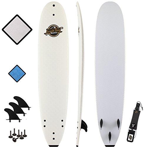 """South Bay Board Co. 8'8"""" Premium Beginner Foam Surfboard"""