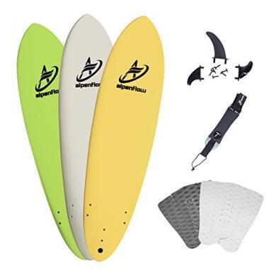 A Alpenflow 7' Soft Top Foam Surfboard