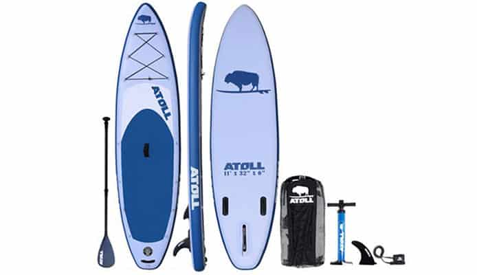 Atoll 11 ft Inflatable Stand Up Paddle Board Review