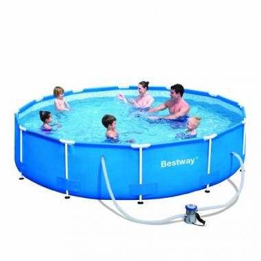 Steel Pro 12′ x 30″ Frame Set Bestway Pool