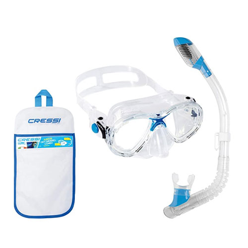 Cressi Marea Junior and Dry Snorkel Combo