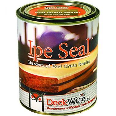 DeckWise Ipe Grain Sealant for Fresh Cut Board Ends Pool Deck Paint