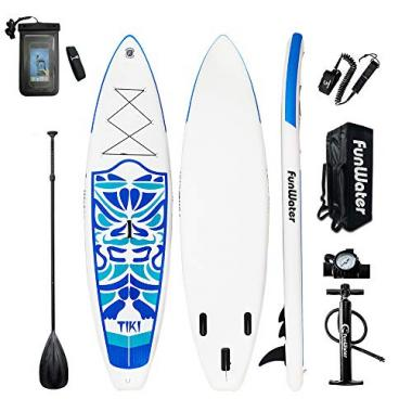 All Skill Levels Ultra-Light Inflatable Stand Up Paddle Board by FunWater