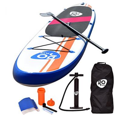 Inflatable Stand Up Paddle Board Package by Goplus