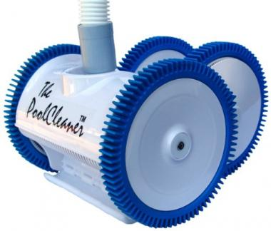Poolvergnuegen 4-Wheel In Ground Suction Pool Cleaner