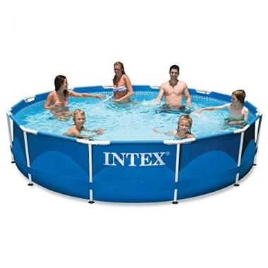 Intex Metal Frame Pool with Filter Pump