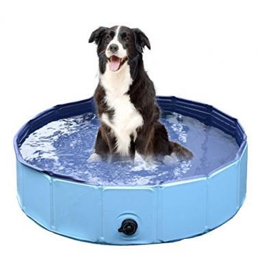 Jasonwell Foldable Dog Pet Bath Pool