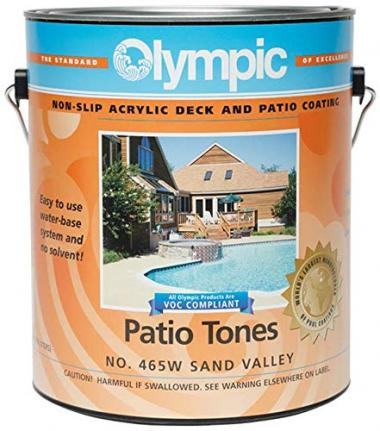 Olympic Patio Deck Coatings by Kelley Technical