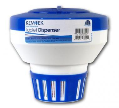 Kem-Tek Floating Tablet Pool Chlorine Dispenser