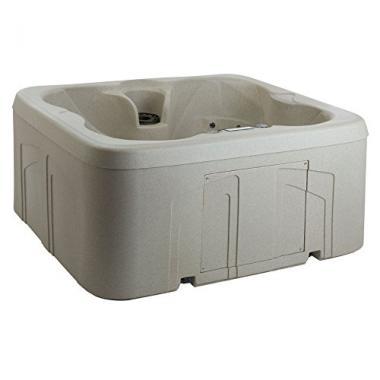 LifeSmart Rock Solid 4-Person Hot Tub