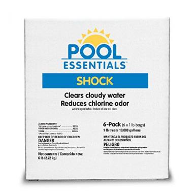 Pool Essentials Treatment, 1-Pound (Pack of 6) Pool Shock