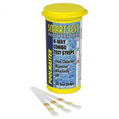 Poolmaster 4-Way Pool Test Strip