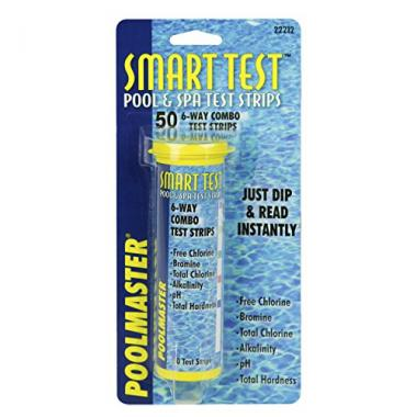 Poolmaster 6-Way Swimming Pool Chemistry Test Strips