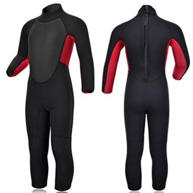Realon Wetsuit Shorty Full 3mm Premium Scuba Gear For Kid