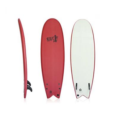 "Rock-It 5'8"" Albert Foam Surfboard"