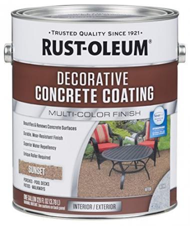 Rust-Oleum Decorative Concrete Coating Pool Deck Paint