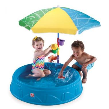 Step2 Play And Shade Inflatable Pool