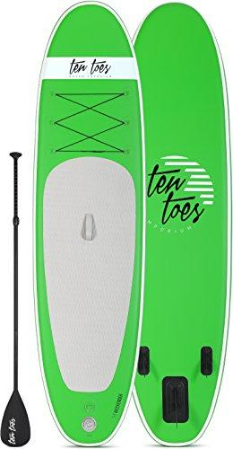 Weekender Inflatable Stand Up Paddle Board by Ten Toes SUP Emporium