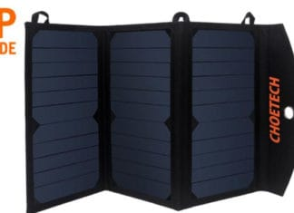 The_SC001_Solar_Charger,_19W_Solar_Phone_Charger_Review