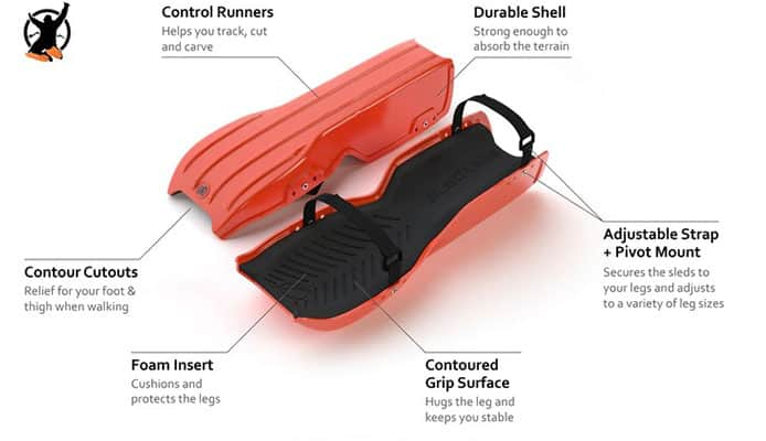 SLED LEGS – The Wearable Snow Sleds Review