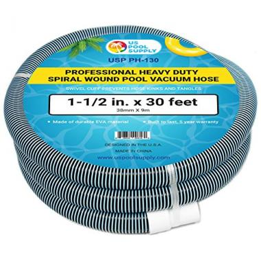 U.S. Pool Supply Professional Spiral Wound Pool Vacuum Hose
