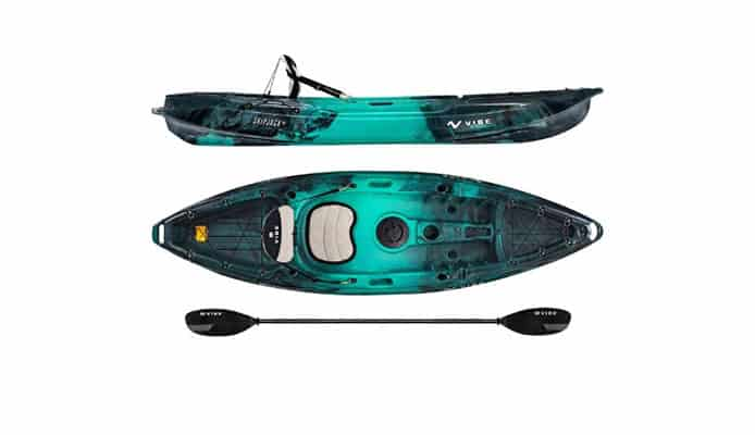 Vibe Skipjack 90 (and 120T) Kayak Review