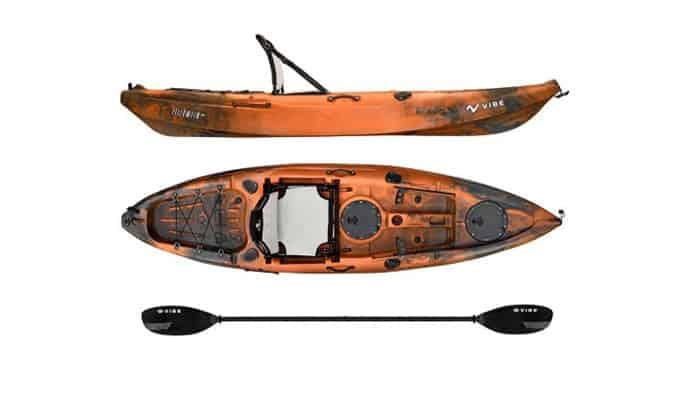 Vibe Yellowfin 100 Fishing Kayak Review
