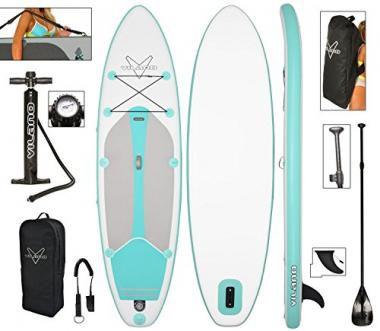 Journey Inflatable SUP Board by Vilano