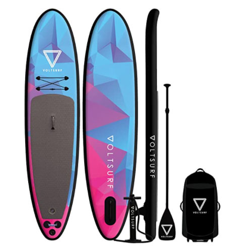 VoltSurf Rover Inflatable 11' Stand Up All Around Paddle Board