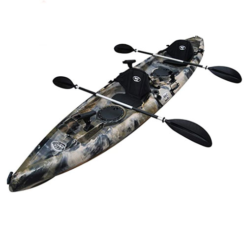 BKC TK181 Tandem Sit On Top Fishing Kayak