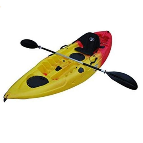 BKC UH-FK184 Single Sit On Top Fishing Kayak