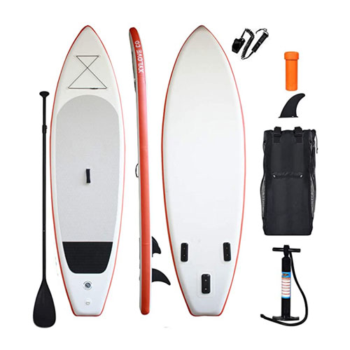 XYLOVE CO Peak 11′ Inflatable Stand Up All Around Paddle Board
