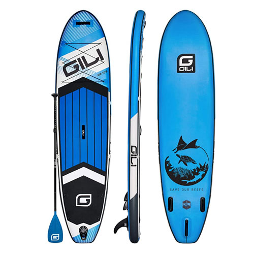 GILI Inflatable All Round Paddle Board