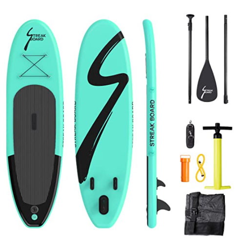 Streakboard Inflatable Stand Up All Around Paddle Board